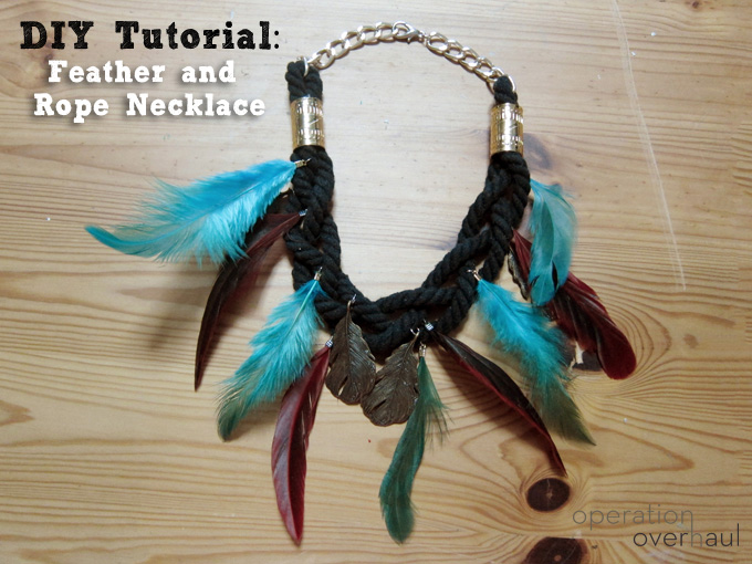 OOH_Feather and Rope Necklace Tutorial Cover
