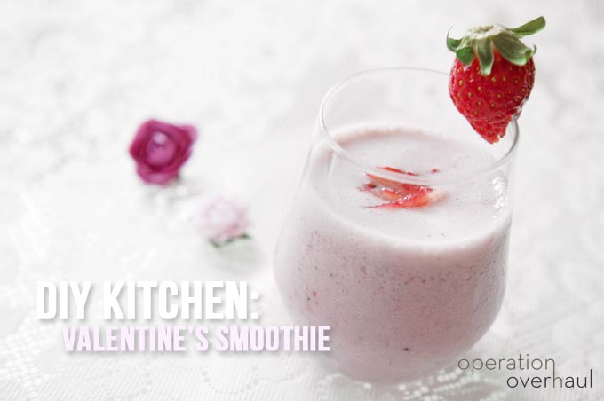 Operation Overhaul Valentines Smoothie Tutorial