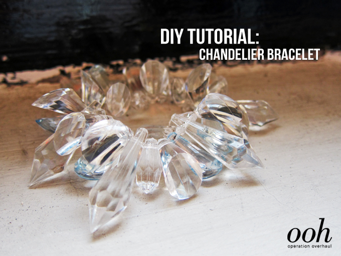 operationoverhaul - chandelier bracelet