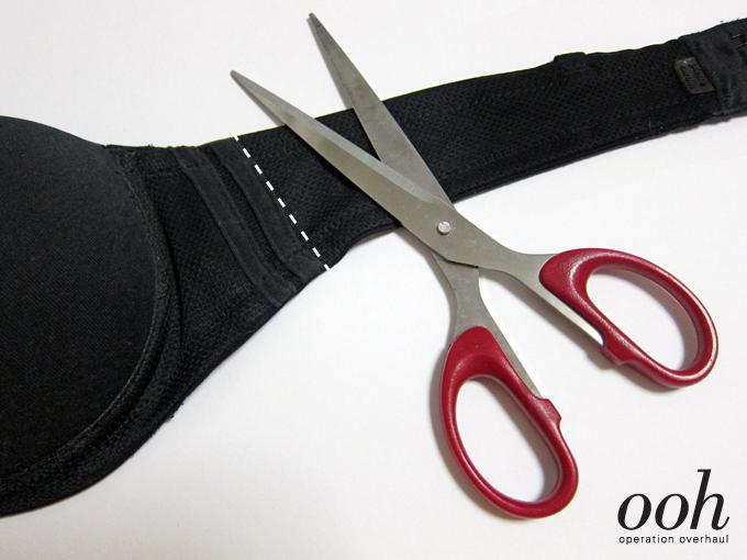 2 Overhaul Operação - Elastic Strappy Bra Strap Cut