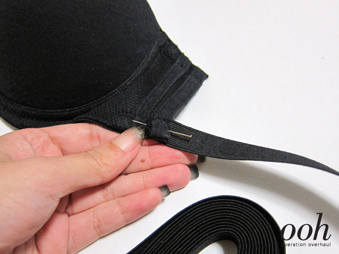 3 Operation Overhaul - Elastic Strappy Bra Pin Elastic