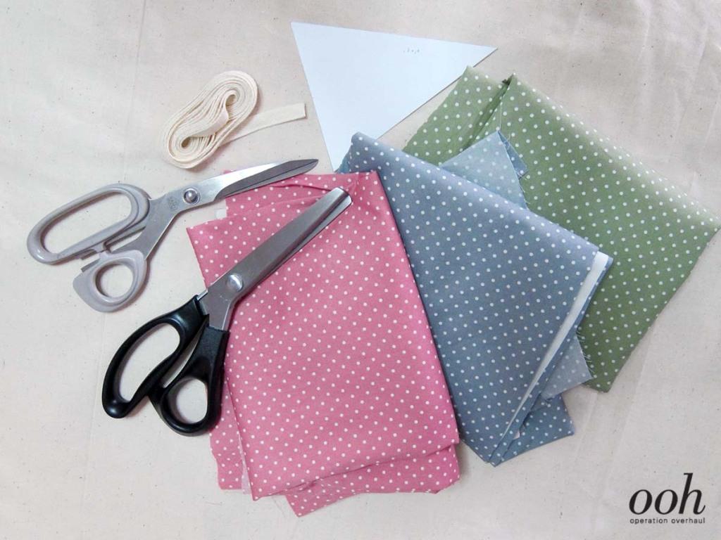 OOH - Fabric Buntings Tutorial Materials