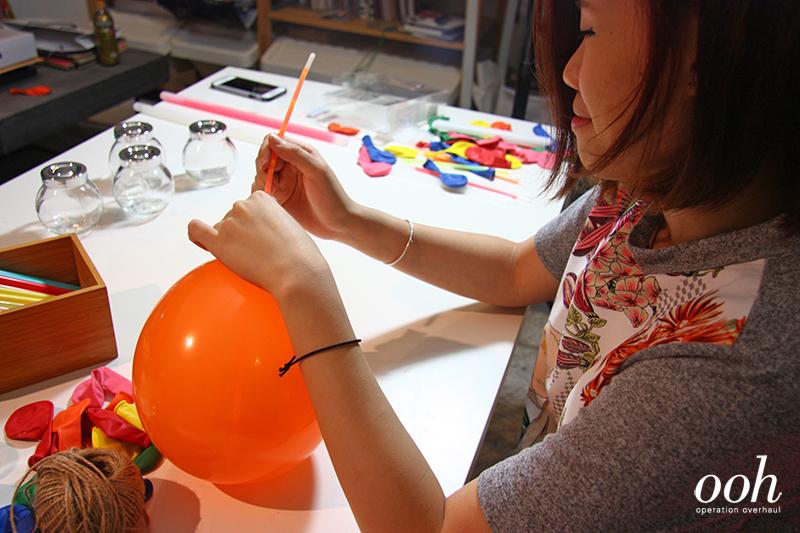 OOH x IKEA - Glo Balloons